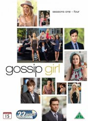 gossip girl - sæson 1-4 - DVD