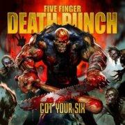 five finger death punch - got your six - cd