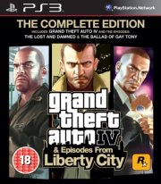 grand theft auto iv (gta 4) complete edition - PS3