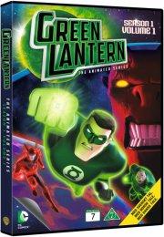 green lantern - sæson 1 - volume 1 - DVD