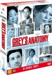 greys hvide verden - sæson 2 - DVD