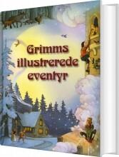 grimms illustrerede eventyr - bog