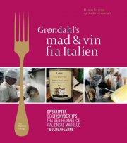 grøndahl?s mad og vin fra italien - bog