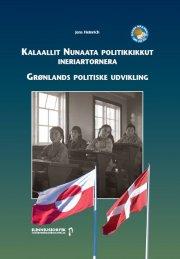 grønlands politiske udvikling - bog