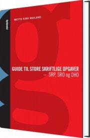 guide til store skriftlige opgaver - bog