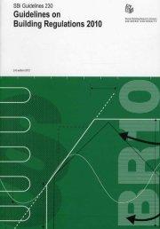 guidelines on building regulations 2010 - bog