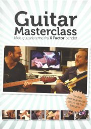 guitar masterclass - guitar undervisning for de lidt øvede - eller mere - DVD