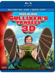 gullivers rejser - 3d  - BLU-RAY+DVD