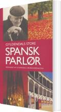 gyldendals store spansk parlør - bog