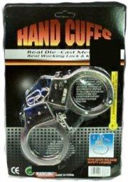 politi håndjern udklædning - metal 25x17cm - Udklædning