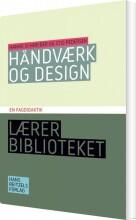 håndværk og design - bog