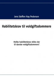 habilitetskrav til voldgiftsdommere - bog