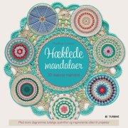 hæklede mandalaer - bog