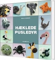 hæklede pusledyr - bog