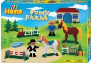 hama beads - midi - pony farm 4000pcs (3136) - Kreativitet