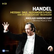 nikolaus harnoncourt - handel: great oratorios - cd