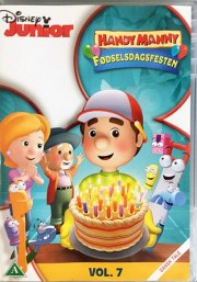 handy manny - fødselsdagsfesten - DVD