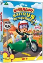 handy manny: mannys motorcykeleventyr - disney - DVD