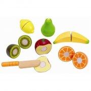 hape legemad i træ - frisk frugt - Rolleleg