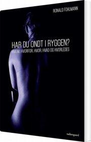 har du ondt i ryggen? - bog