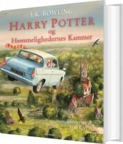 harry potter 2 - illustreret udgave - og hemmelighedernes kammer - bog