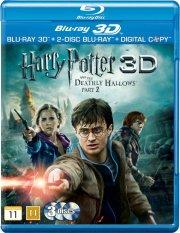 harry potter 7 og dødsregalierne / the deathly hallows - part 2 - 3d - Blu-Ray