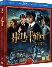 harry potter 2 og hemmelighedens kammer / and the chamber of secrets + dokumentar - Blu-Ray