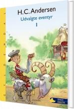 h. c. andersen - udvalgte eventyr - bog