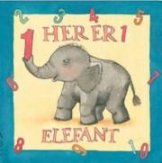 her er 1 elefant - bog
