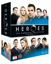 heroes blu-ray box - den komplette serie - Blu-Ray