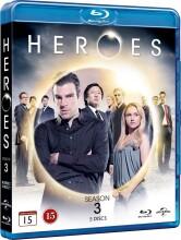 heroes - sæson 3 - Blu-Ray