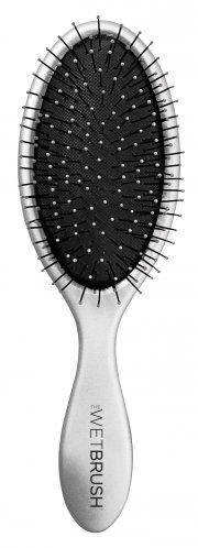 hh simonsen hårbørste - the wet brush - sølv - Hårpleje