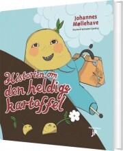 historien om den heldige kartoffel - bog