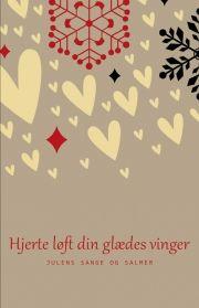 hjerte løft din glædes vinger - bog