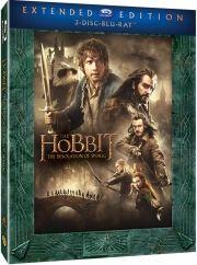 hobbitten 2 - dragen smaugs ødemark - extended edition  - Blu-Ray