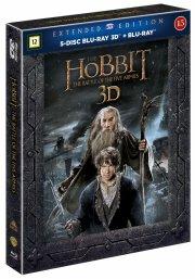 hobbitten 3 femhæreslaget / the hobbit 3 the battle of the five armies - extended - 3d - Blu-Ray