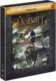 hobbitten 3 femhæreslaget / the hobbit 3 the battle of the five armies - extended - DVD