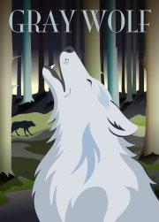 ping pong ulve plakat - hoei denmark - 50 x 70 cm - Til Boligen