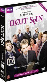 højt spin - sæson 1 og 2 - DVD