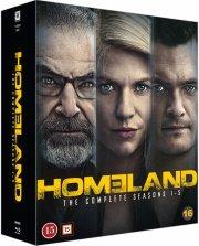 homeland - sæson 1-5 - Blu-Ray