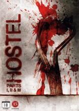 hostel 1-3 - trilogi - DVD