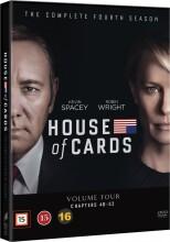 house of cards - sæson 4 - DVD