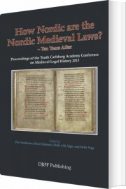 how nordic are the nordic medieval laws? - bog