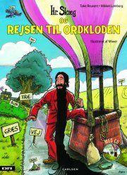 hr. skæg og rejsen til ordkloden m. cd - bog