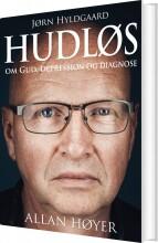 hudløs - bog