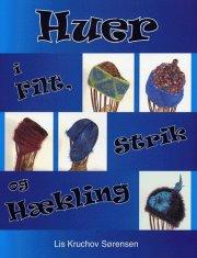 huer i filt, strik og hækling - bog