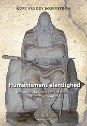 humanismens elendighed - bog