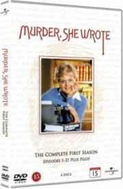 hun så et mord - sæson 1 - DVD