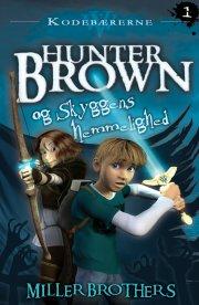 hunter brown og skyggens hemmelighed - bog