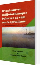 hvad enhver miljøforkæmper behøver at vide om kapitalisme - bog